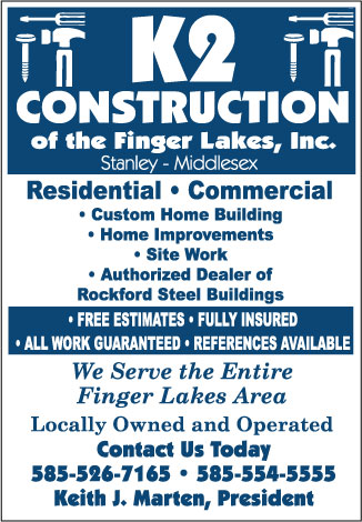 K2 Construction of the Finger Lakes, Inc.